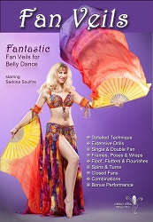 Fantastic Fan Veils for Bellydance with Sedona Soulfire