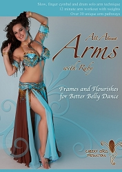 All About Arms: Frames and Flourishes for Better Belly Dance with Ruby
