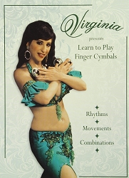 Virginia Presents: Learn to Play Finger Cymbals DVD