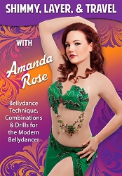 Shimmy, Layer & Travel with Amanda Rose DVD