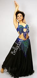 Fringe Queen - Bra & Belt Set