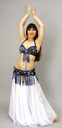 Blue Star - Bra & Belt Set