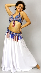 Royal Paisley - Bra & Belt Set
