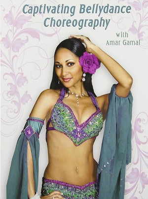 Captivating Bellydance Choreography with Amar Gamal DVD
